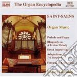 Saint-Saens - Musica Per Organo cd musicale di Camille Saint-saËns