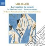 La cr????ation du monde op.81a, le boeuf su cd musicale di Darius Milhaud