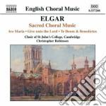 Sacred choral music cd musicale di ELGAR