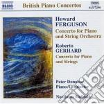 Concerto per pianoforte e archi cd musicale di Roberto Gerhard