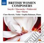 BRITISH WOMEN COMPOSERS (OPERE PER VIOLI  cd musicale di Miscellanee