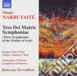Narbutaite Onute' - Tres Dei Matris Symphoniae cd musicale di Onut� Narbutaite