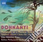 Variazioni su un canto per bambini, suit cd musicale di Erno DohnÁnyi
