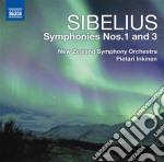 Sibelius Jean - Sinfonia N.1, N.3 cd musicale di Jean Sibelius