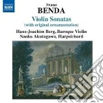 Sonate per violino nn.10, 14, 23, 28, 32 cd musicale di Frantisek Benda