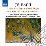 Fantasia cromatica e fuga bwv 903, parti cd musicale di Johann Sebastian Bach