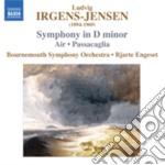 Sinfonia in re minore, passacaglia cd musicale di Ludvig Irgens-jensen