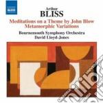 Meditations on a theme by john blow, met cd musicale di Arthur Bliss