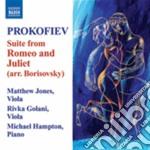 Romeo e giulietta ( suite, arr.borisov cd musicale di Sergei Prokofiev