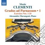 GRADUS AD PARNASSUM, VOL.1 (NN.1-24)      cd musicale di Muzio Clementi