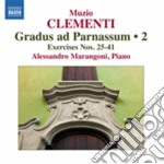 Grandus ad parnassum, vol.2 cd musicale di Muzio Clementi