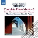 Opere per pianoforte (integrale), vol.2 cd musicale di Ghedini giorgio fede
