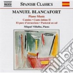 Musica per pianoforte (integrale) vol.3 cd musicale di Manuel Blancafort