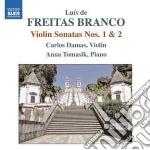 Sonata per violino n.1, n.2; pr�lude cd musicale di Branco luis de freit