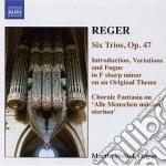 Opere per organo (integrale) vol.6 cd musicale di Max Reger