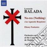 No-res, ebony fantasies (cantata) cd musicale di Leonardo Balada