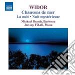 CHANSON DE MER- LA NUIT                   cd musicale di WIDOR