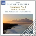 Sinfonia n.1, mavis in las vegas cd musicale di Maxwell davies peter
