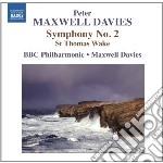 Maxwell Davies Peter - Sinfonia N.2, St.thomas Wake cd musicale di Maxwell davies peter
