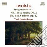 Quartetti per archi (integrale) vol.7 cd musicale di Antonin Dvorak