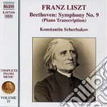 Opere per pianoforte (integrale) vol.21 cd musicale di Franz Liszt