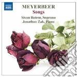 Liriche da camera cd musicale di Giacomo Meyerbeer