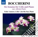 SONATE PER VIOLONCELLO (ARR.ALFREDO PIAT  cd musicale di Luigi Boccherini