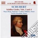 Lieder su testi di schiller voll.3 e 4 cd musicale di Franz Schubert