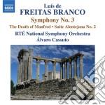 Branco Luis De Freitas - Opere Per Orchestra, Vol.3 cd musicale di Branco luis de freit
