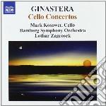 Concerti per violoncello cd musicale di Alberto Ginastera