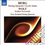 Quartetto per archi op.3, suite lirica cd musicale di Alban Berg