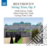 Trii op.9 (nn.1-3) cd musicale di Beethoven ludwig van