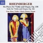 Rheinberger Joseph Gabriel - Opere Per Violino E Organo cd musicale di Rheinberger joseph g