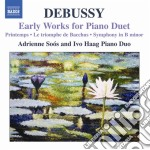Brani giovanil per duo pianistico (early cd musicale di Claude Debussy