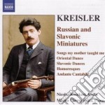 Russian and slavonic miniatures cd musicale di Fritz Kreisler