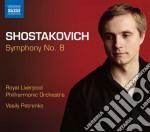 Sinfonia n.8 cd musicale di Dmitri Sciostakovic