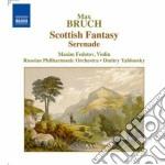 Fantasia scozzese op.46, serenata op.75 cd musicale di Max Bruch