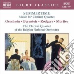 Summertime - musica per qurtetto di clar cd musicale
