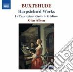 Opere per clavicembalo, la capricciosa, cd musicale di Dietrich Buxtehude