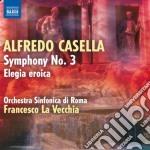 Sinfonia n.3, elegia eroica cd musicale di Alfredo Casella