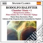 Musica da camera (integrale), vol.1 cd musicale di Rodolfo Halffter