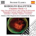 Musica da camera vol.2 cd musicale di Rodolfo Halffter