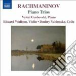 Trii con pianoforte cd musicale di Sergei Rachmaninov