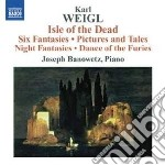 Isle of the dead, six fantasies, picture cd musicale di Karl Weigl