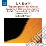 Bach J.S. - Transcriptions For Guitar cd musicale di Johann Sebastian Bach