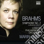 Sinfonia n.2, hungarian dances cd musicale di Johannes Brahms