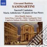 Cantate sacre: maria addolorata j-c 121, cd musicale di Giuseppe Sammartini