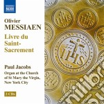 Livre du saint sacrement cd musicale di Olivier Messiaen