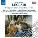 Musica da camera per flauto cd musicale di Jean-marie Leclair