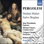 Pergolesi Giovanni B. - Stabat Mater, Salve Regina cd musicale di Pergolesi giovanni b